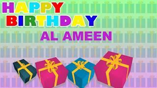 AlAmeen   Card Tarjeta - Happy Birthday