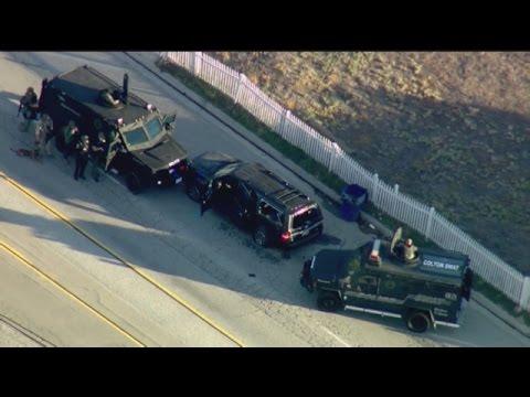 San Bernardino Shooting: Does suspect Black SUV belong to the FBI?
