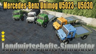 "[""Farming"", ""Simulator"", ""LS19"", ""Modvorstellung"", ""Landwirtschafts-Simulator"", ""Mercedes-Benz Unimog U5023 - U5030"", ""UNIMOG U5023"", ""U5023"", ""U5030"", ""Unimog"", ""Mercedes-Benz"", ""LS19 Modvorstellung Landwirtschafts-Simulator :MERCEDES-BENZ"", ""LS19 Modvor"
