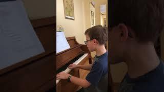 hallelujah amazing boy singing and playing piano adam k