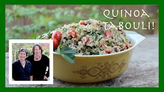 Quinoa Tabouli Recipe: A Gluten-free Quinoa Tabouli-inspired Salad