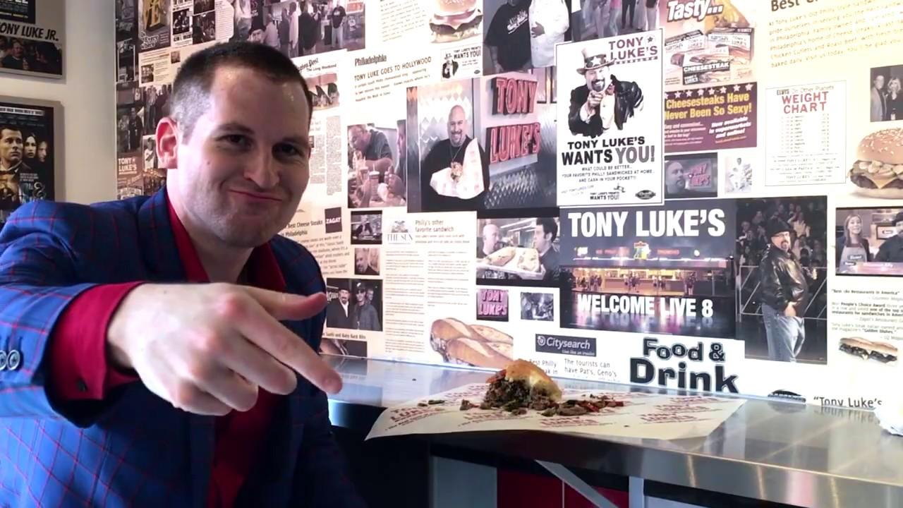 The Best of NYC Food: Tony Luke's -- World's Best Cheesesteak