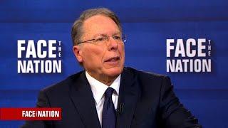 NRA's Wayne LaPierre says current regulations should be enforced better