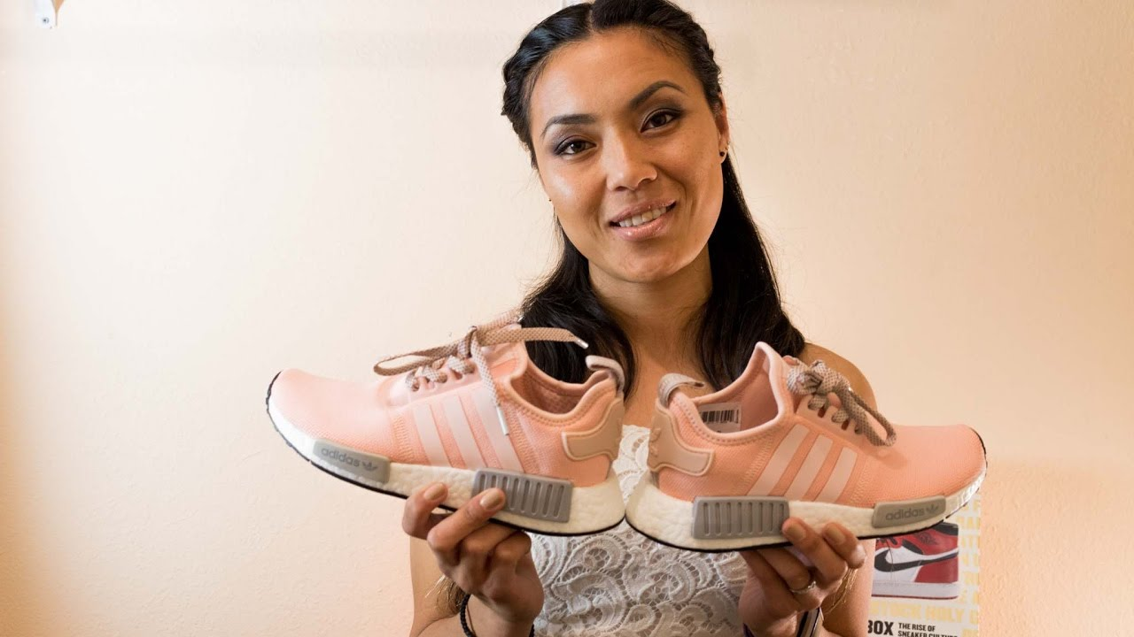 ab4ad7248 Adidas Women NMD R1  Vapour Pink - YouTube