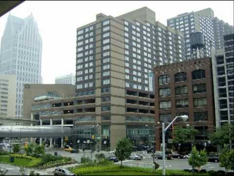 USA; Work and Travel; Detroit city;