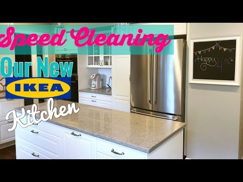 Clean With Me Our New Ikea Kitchen