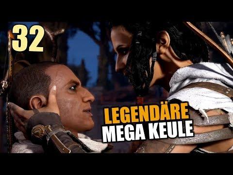 Assassin's Creed Origins Gameplay German #32 Mega Keule | Let's Play Deutsch