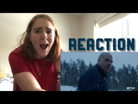 """Stranger Things 4 REACTION """"From Russia With Love"""" Teaser"""