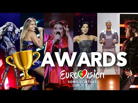 Eurovision 2018 - MY AWARDS (After The Show)