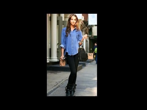 How to Wear Chambray Shirts for Women - Fashion Inspirations