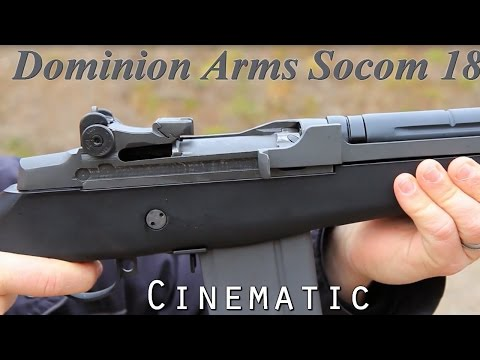Domion Arms Socom 18 Assemble And Shooting From Canada Ammo 7.62 x 51mm NATO