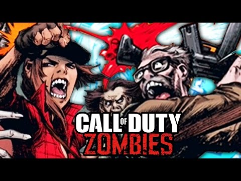 CALL OF DUTY ZOMBIES COMIC #1 BREAKDOWN - STORYLINE SECRETS OF TRANZIT CREW!