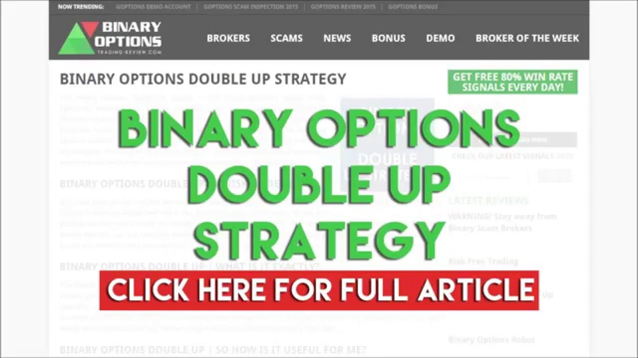 Double up binary options