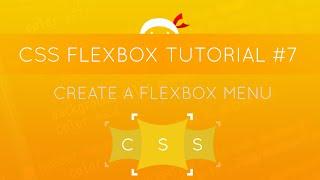 CSS Flexbox Tutorial #7 - Creating a Menu with Flexbox