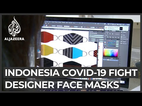 Struggling designers find ways to help fight COVID in Indonesia