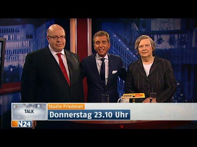 Studio Friedman - Abzocke an den Tankstellen | 26.04.12