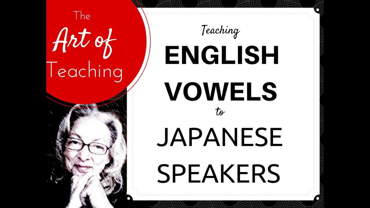 English pronunciation english vs japanese vowels
