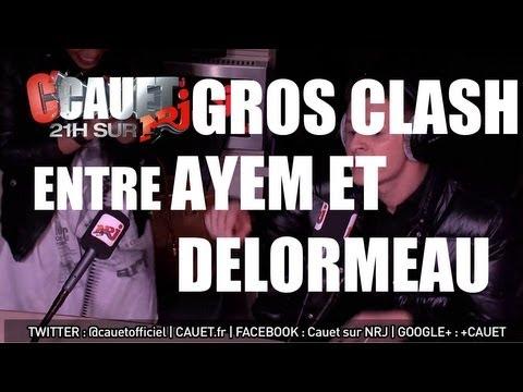 Clash entre Ayem et Matthieu Delormeau en direct sur NRJ - C