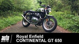 2019 Royal Enfield Continental GT 650 ESSAI POV Auto-Moto.com