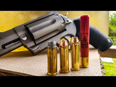 45colt Vs 454 Casull Vs 410 - Ballistics Gel - Taurus Raging Judge Magnum