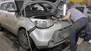 видео Бампер Киа Рио: накладка, ремонт, крепление и снятие заднего и переднего бампера