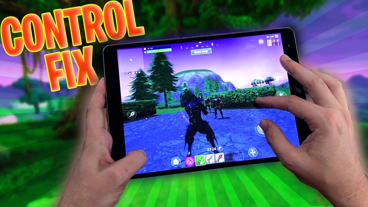 how to fix fortnite mobile controls - fortnite mobile beste steuerung