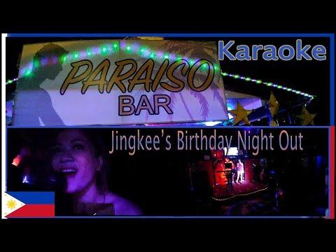 Jingkee Birthday Night out - Karaoke