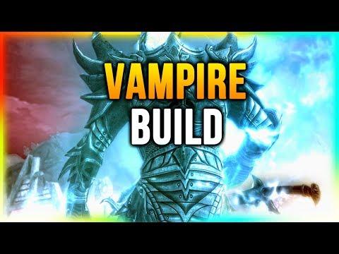 Skyrim Best VAMPIRE Warrior/Mage Build!