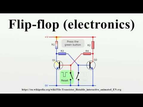 Flip-flop (electronics)