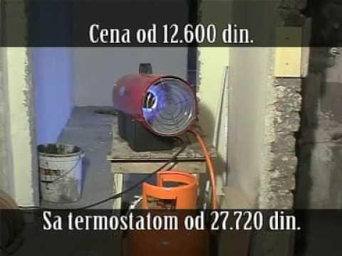Газов калорифер CIMEX LPG30 #2pmFtEGxEYo