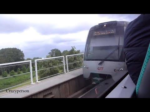Metro ride Schiedam - Rotterdam Blaak 2018 RET Metro line A