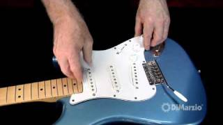 How to Install the New DiMarzio Solderless Strat Pickguard