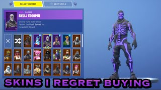 Skins I Regret Buying In Fortnite