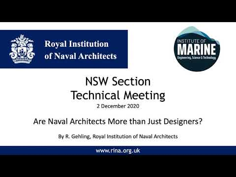 Are Naval Architects More than Just Designers?
