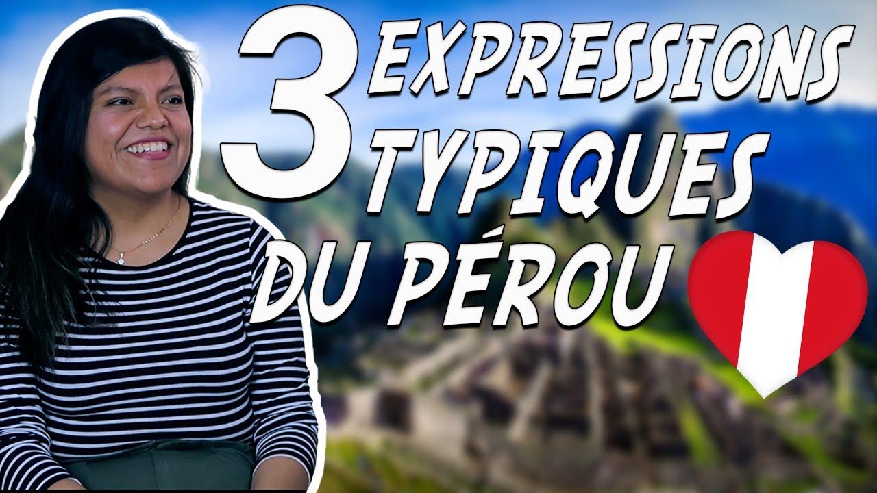 3 expressions espagnoles typiques du Pérou 🇵🇪 (avec Claudia)