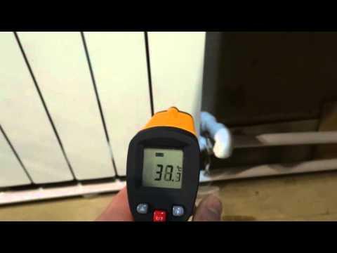 отопление гаража, как вариант (алюминиевые радиаторы)