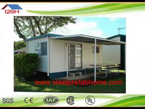 latest design steel frame prefab shipping container house for sale