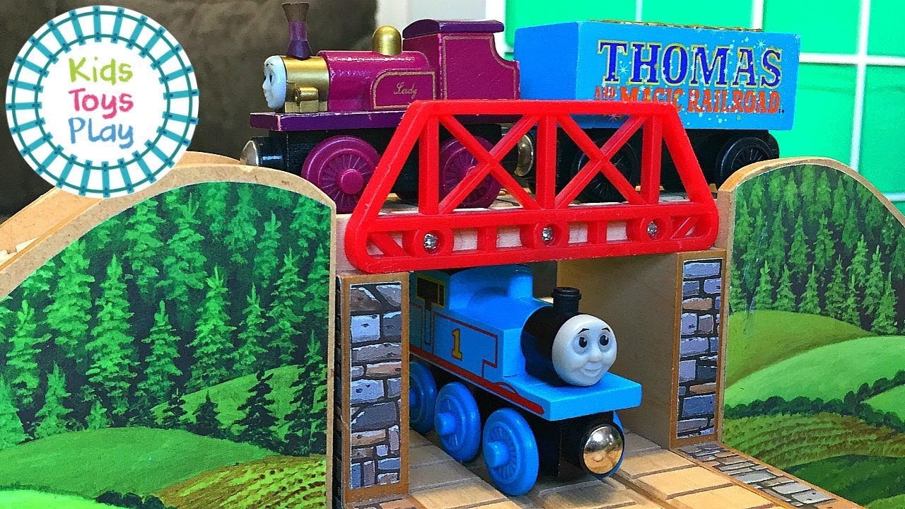 Thomas and the Magic Railroad Wooden Railway Track