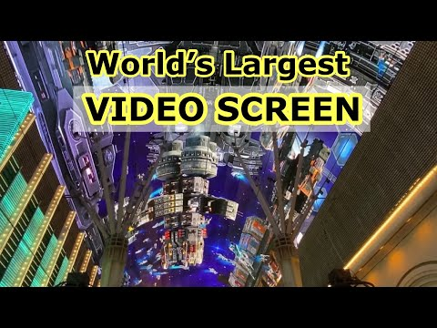 FREMONT STREET EXPERIENCE LIGHT SHOW 2021   World's Largest Video Screen