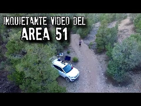 Revelan Inquietante Video Del AREA 51