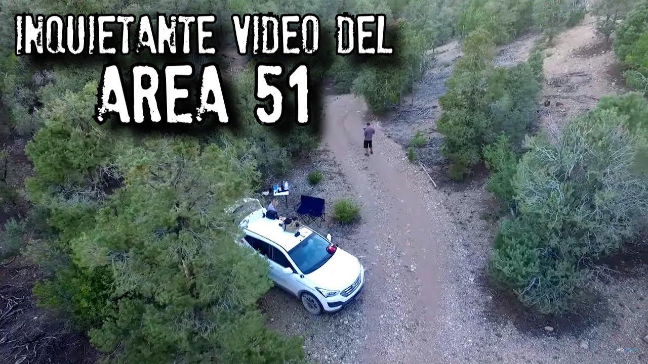 Revelan inquietante video del AREA 51