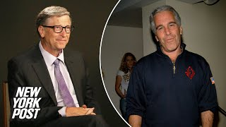 Bill Gates squirms, fiddles with ring finger when asked about ties to Jeffrey Epstein |New York Post