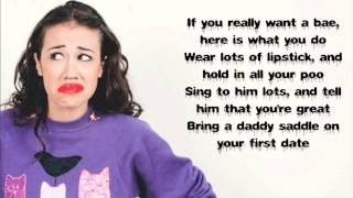 Miranda Sings - Where my Baes at Lyrics 💄