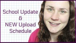 HUGE SCHOOL UPDATE & NEW UPLOAD SCHEDULE   Allie Young