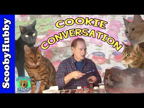 Cookie Conversation -- Cat Clips #331