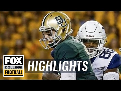 West Virginia vs Baylor | Highlights  FOX COLLEGE FOOTBALL