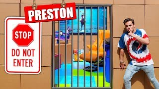 Breaking Into Preston