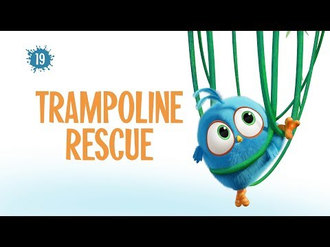 Angry Birds Blues | Trampoline Rescue - S1 Ep19