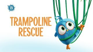 Angry Birds Blues | Trampoline Rescue - S1 Ep19 #NEW