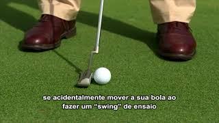 Sem Penalidade por Mover a Bola no Green